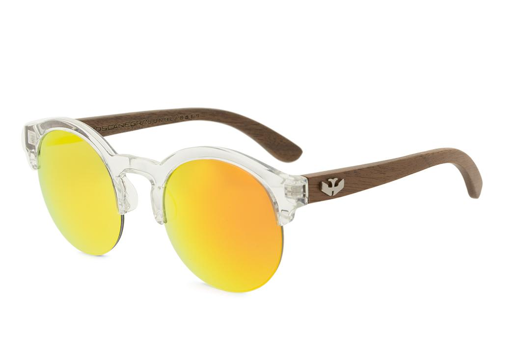 Gafas de madera Mix NOON Orange - PREMIUM