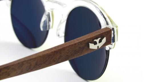 Gafas de madera Mix NOON Yellow Pink - PREMIUM [2]