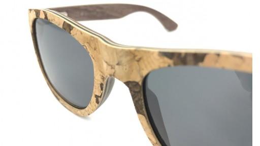 Gafas de madera y corcho con lentes polarizadas - Limited Edition [2]