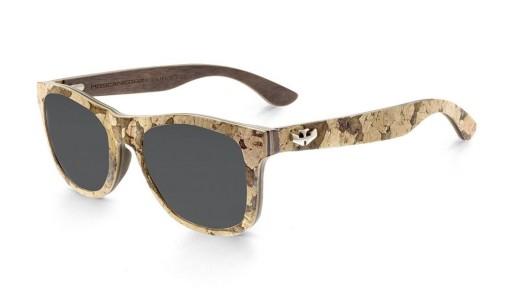 Gafas de madera y corcho con lentes polarizadas - Limited Edition