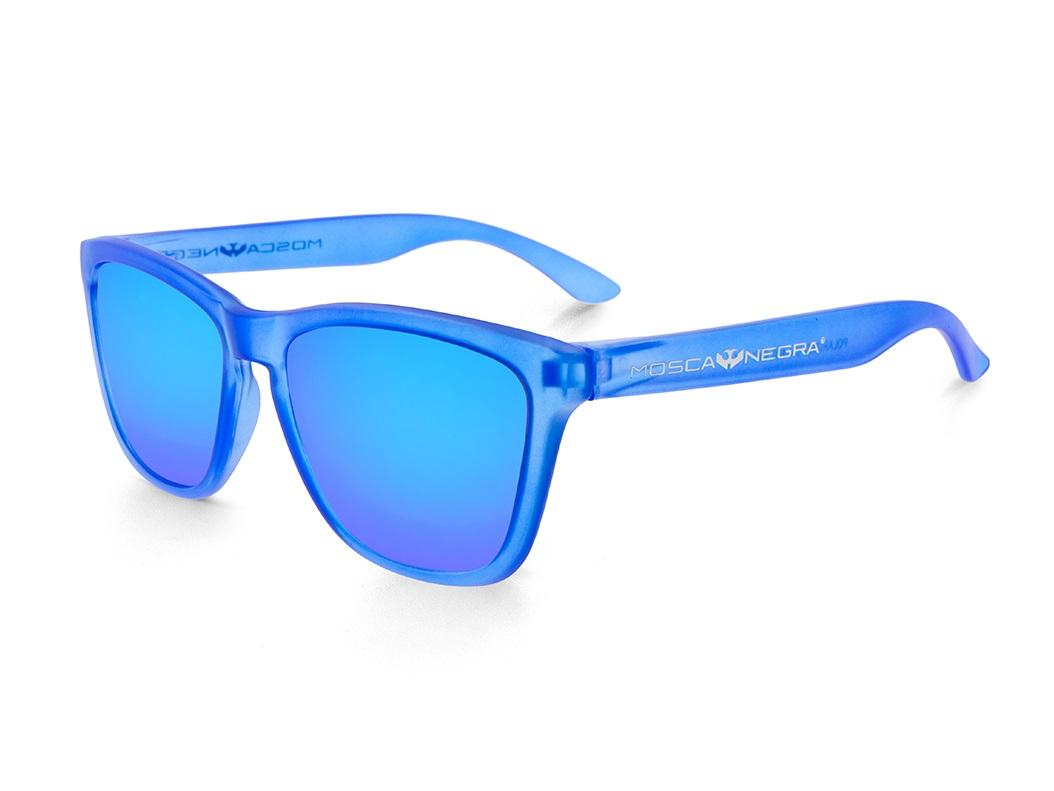Gafas de Sol - Alpha - Transparent Matte Blue