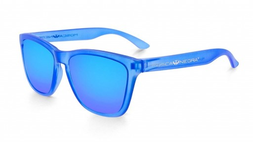 Gafas de Sol - Alpha - Transparent Matte Blue