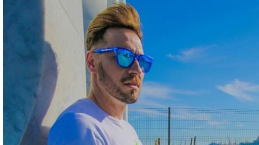 Gafas de Sol - Alpha - Transparent Matte Blue [2]
