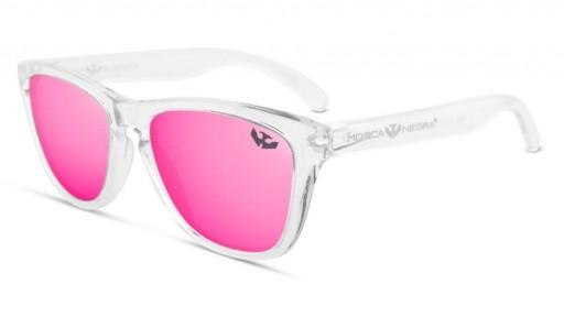 Gafas de Sol - Alpha - Transparent Pink