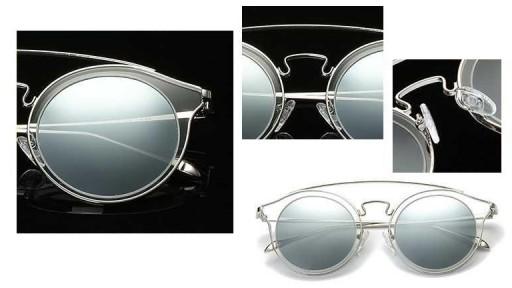Gafas de sol BIG GLAM SILVER - Polarized - Unisex [2]