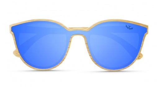 Gafas MADERA lente plana R-ZONE Blue [1]