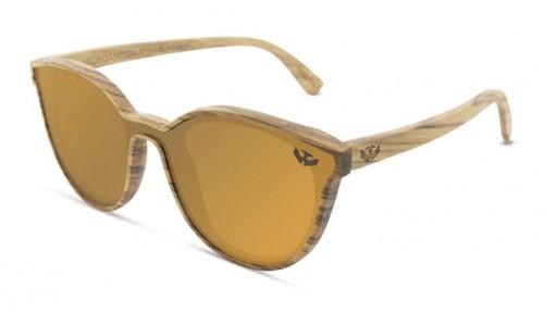 Gafas MADERA lente plana R-ZONE Brown [0]