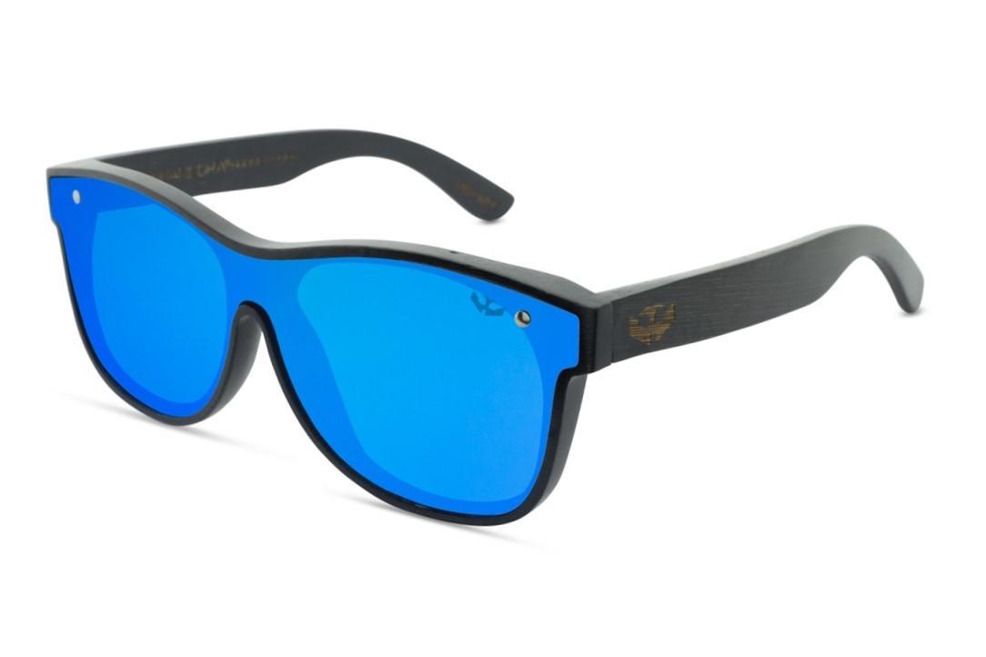 Gafas MADERA lente plana T-ZONE Blue