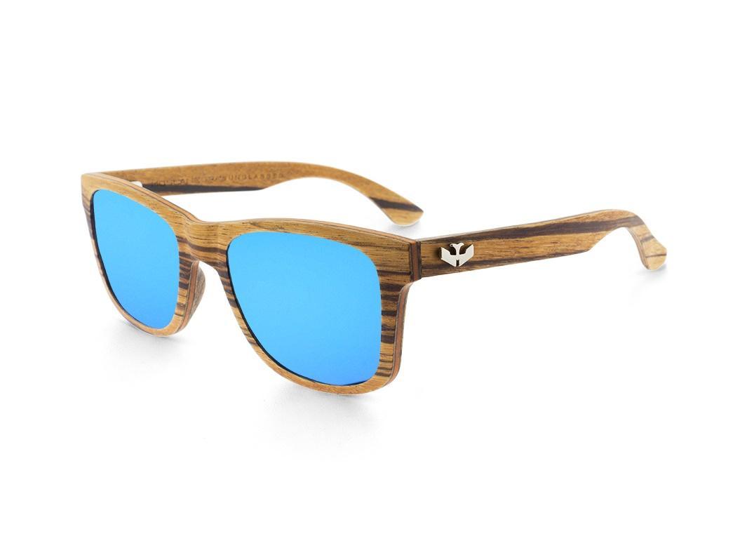 Gafas de madera - FLEXI WOOD Zebra - Polarized