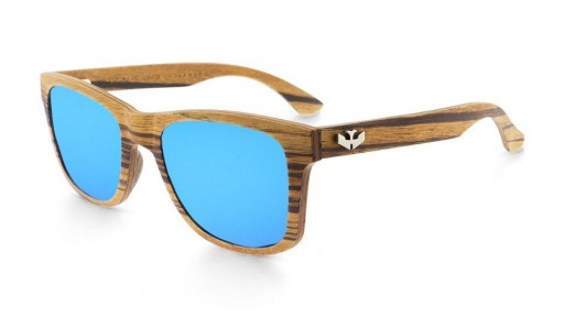 Gafas de madera - FLEXI WOOD Zebra - Polarized