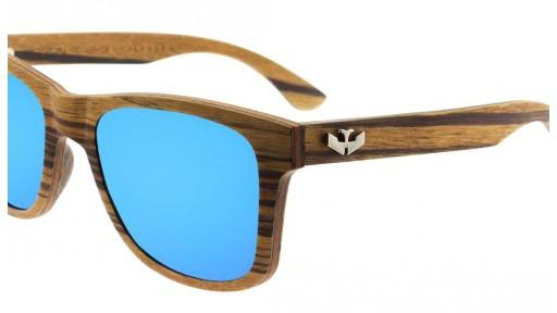 Gafas de madera - FLEXI WOOD Zebra - Polarized [2]