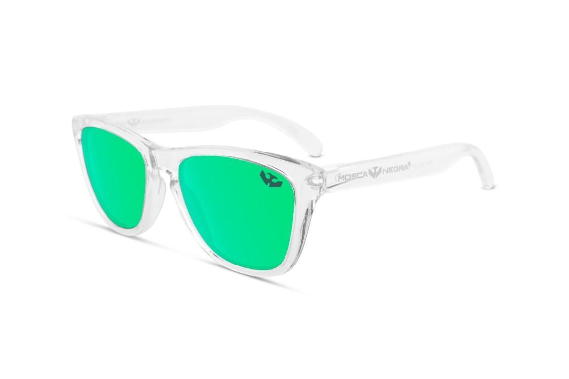 Gafas de Sol - Alpha - Transparent Green