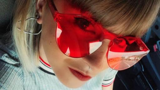 Gafas transparentes RED CANDY [2]
