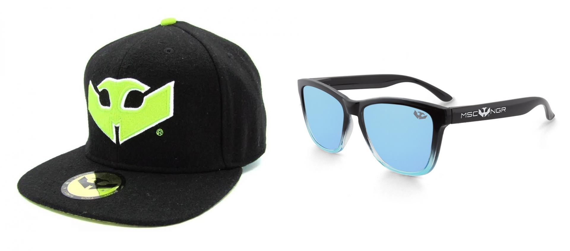 PACK Gafas ALPHA SPLASH Blue + Gorra Plana