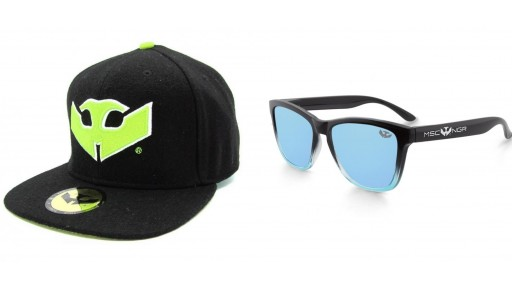 PACK Gafas ALPHA SPLASH Blue + Gorra Plana