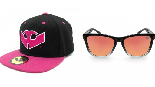 PACK Gafas ALPHA SPLASH Orange + Gorra Plana