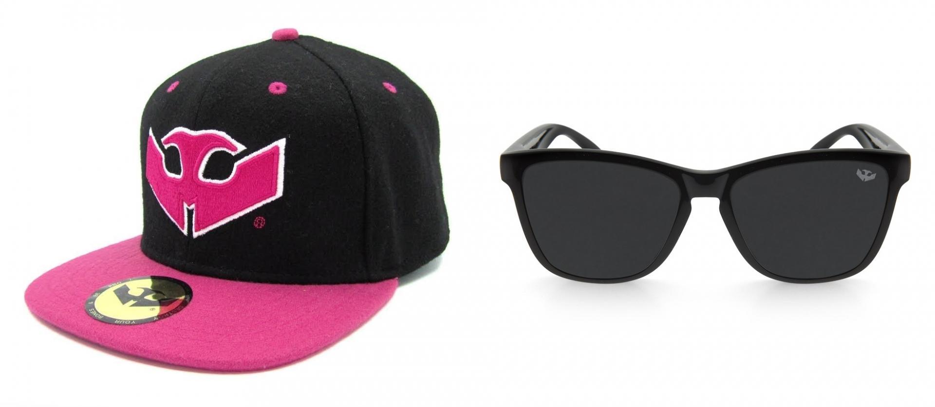 PACK Gafas ALPHA SPLASH Black + Gorra Plana