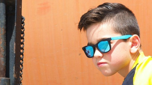 Gafas para niño - MIAMI Ice Blue - Polarized [3]