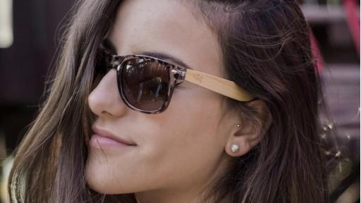 Gafas de madera Mix - Leopard Cafe - Polarized [3]