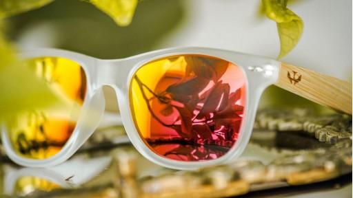 Gafas de madera Mix - Fog and Red - Polarized [3]