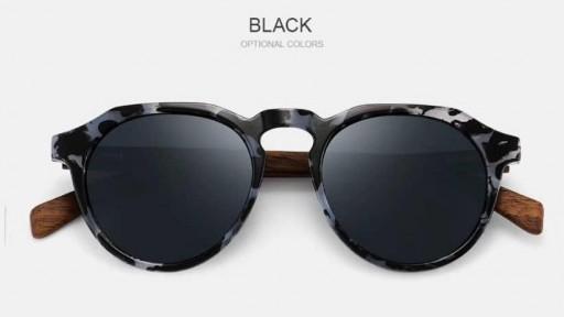 Gafas de madera La Dolce Vita Black [1]