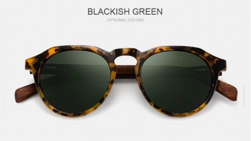 Gafas de madera La Dolce Vita Green [1]