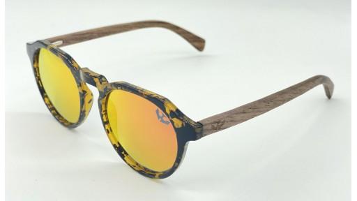 Gafas de madera La Dolce Vita Red