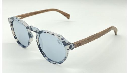 Gafas de madera La Dolce Vita Silver