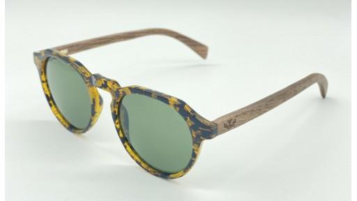 Gafas de madera La Dolce Vita Green