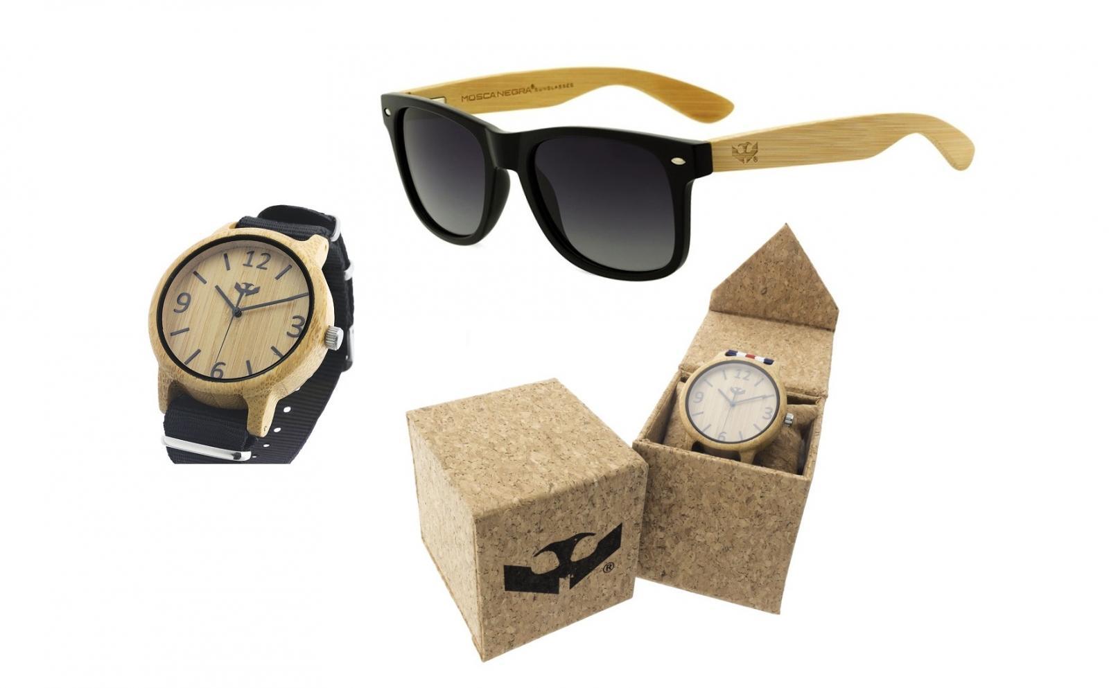 PACK Gafas Madera + Reloj Madera (puedes elegir modelos y colores) - Envío GRATIS!