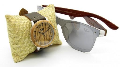 PACK Reloj + Gafas en Madera 01 [0]