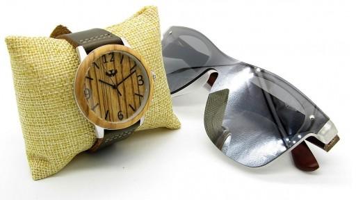 PACK Reloj + Gafas en Madera 01 [1]