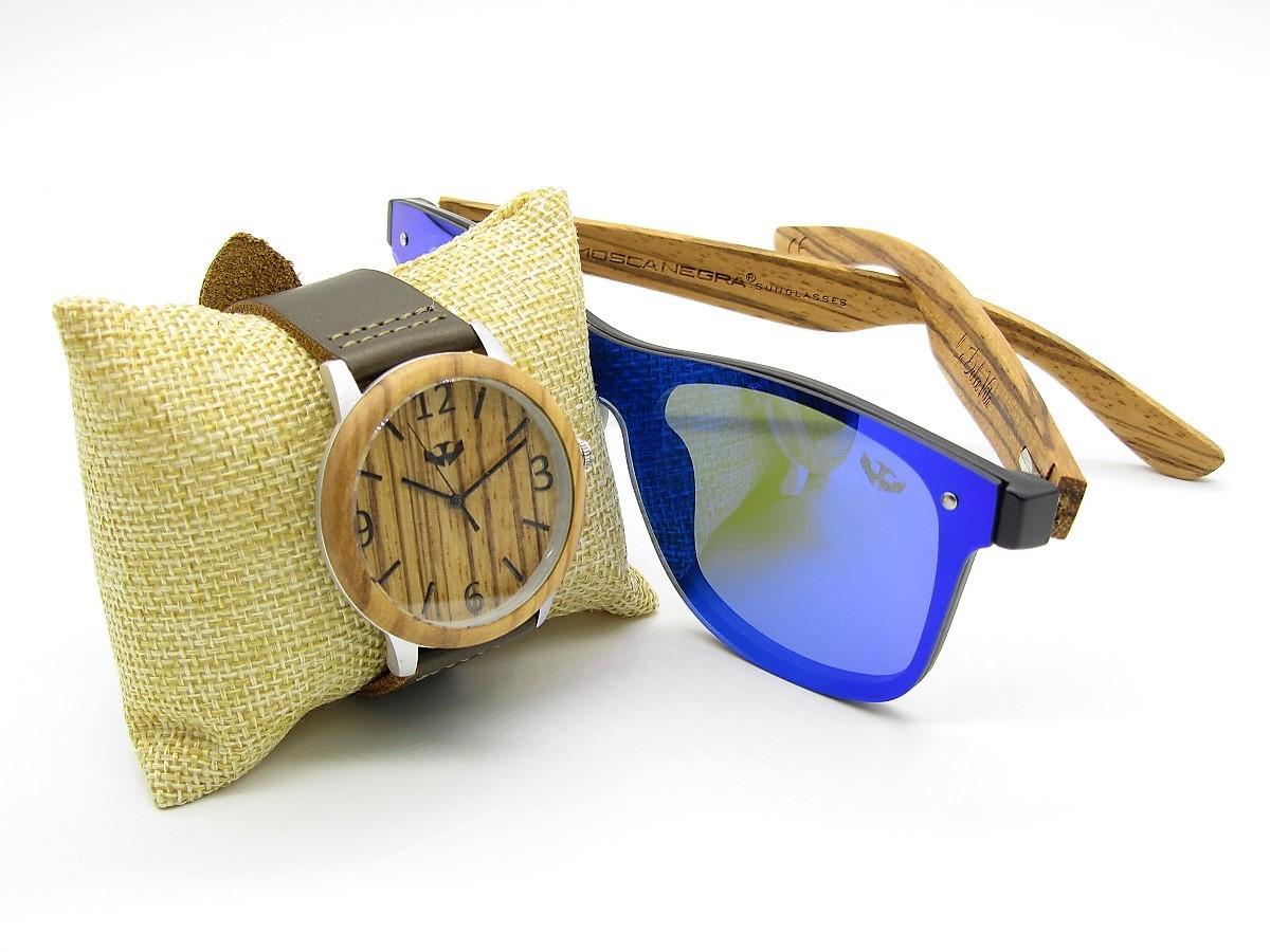 PACK Reloj + Gafas en Madera 02