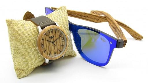 PACK Reloj + Gafas en Madera 02 [0]