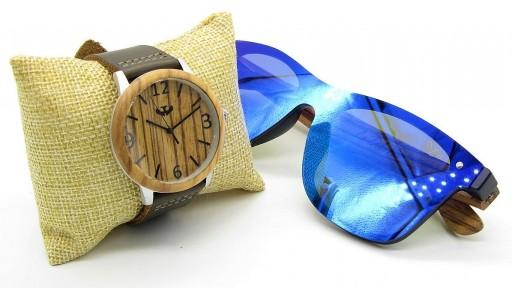 PACK Reloj + Gafas en Madera 02 [1]