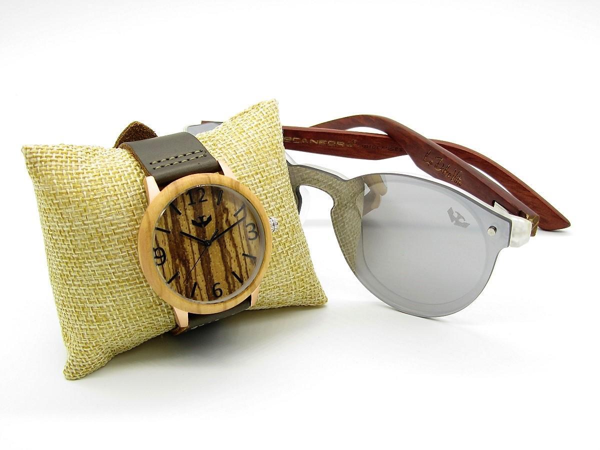 PACK Reloj + Gafas en Madera 03