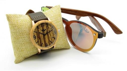 PACK Reloj + Gafas en Madera 04