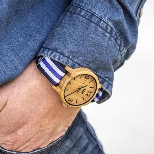 Reloj de madera Mosca Negra SLOWOOD 19 [3]