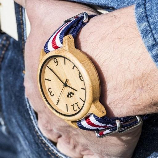 Reloj de madera Mosca Negra SLOWOOD 01 [2]