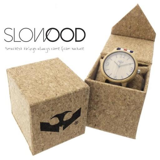Reloj de madera Mosca Negra SLOWOOD 01 [3]