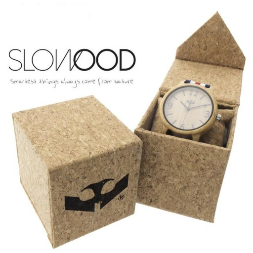 Reloj de madera Mosca Negra SLOWOOD 02 [2]