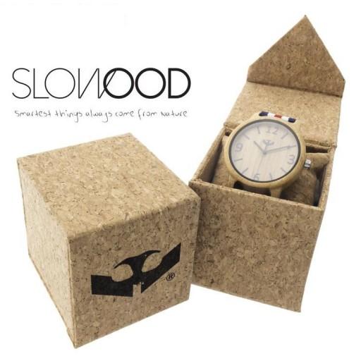 Reloj de madera Mosca Negra SLOWOOD 03 [2]