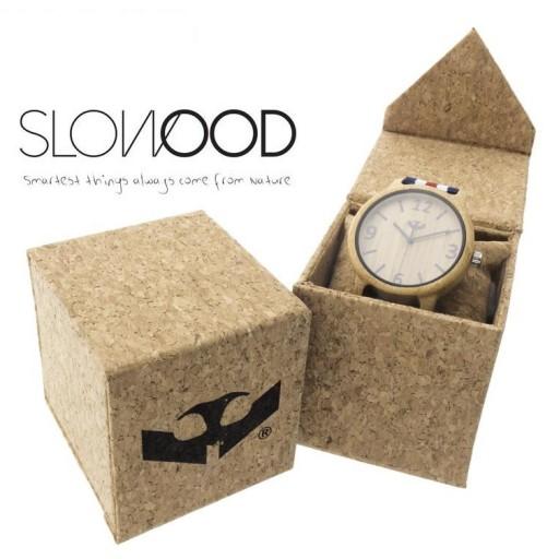 Reloj de madera Mosca Negra SLOWOOD 07 [2]