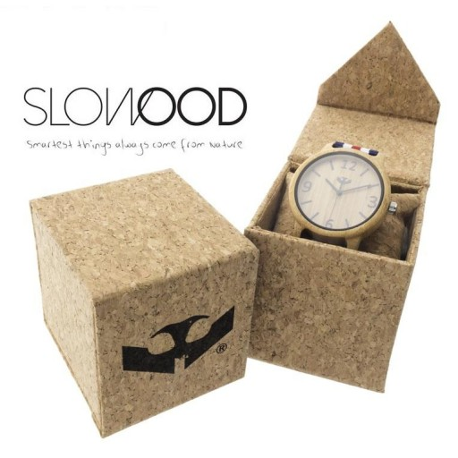 Reloj de madera Mosca Negra SLOWOOD 09 [2]