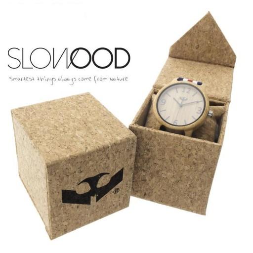 Reloj de madera Mosca Negra SLOWOOD 10 [2]