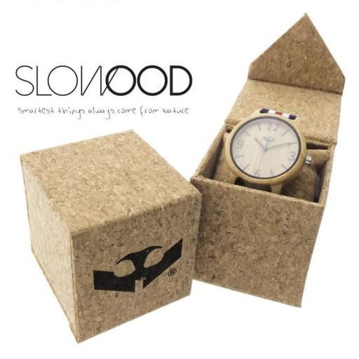 Reloj de madera Mosca Negra SLOWOOD 11 [2]