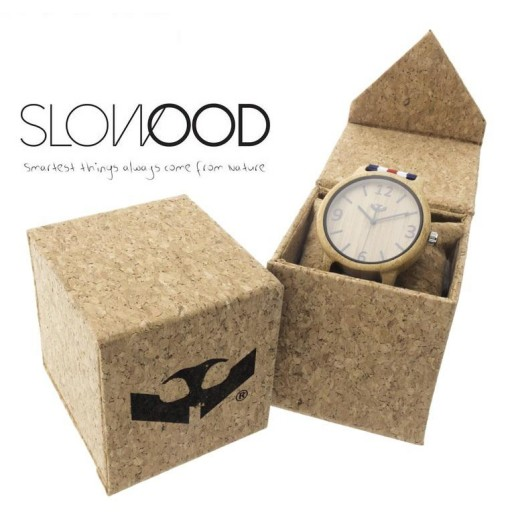 Reloj de madera Mosca Negra SLOWOOD 13 [2]