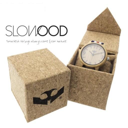Reloj de madera Mosca Negra SLOWOOD 15 [2]