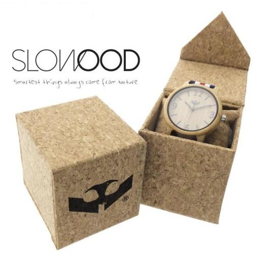 Reloj de madera Mosca Negra SLOWOOD 19 [2]