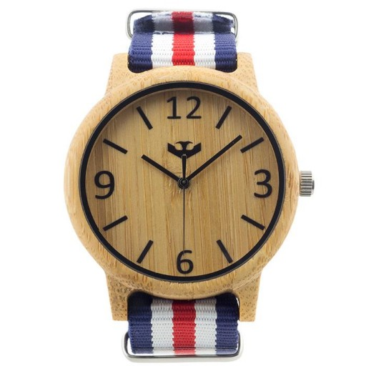 Reloj de madera Mosca Negra SLOWOOD 01 [1]